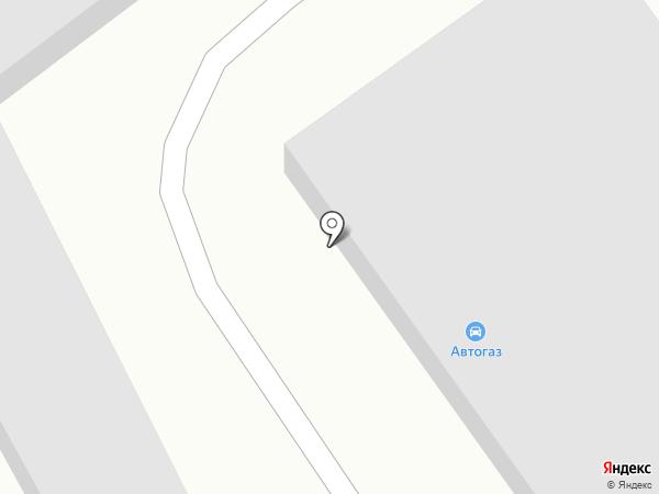 Автогаз на карте Пскова