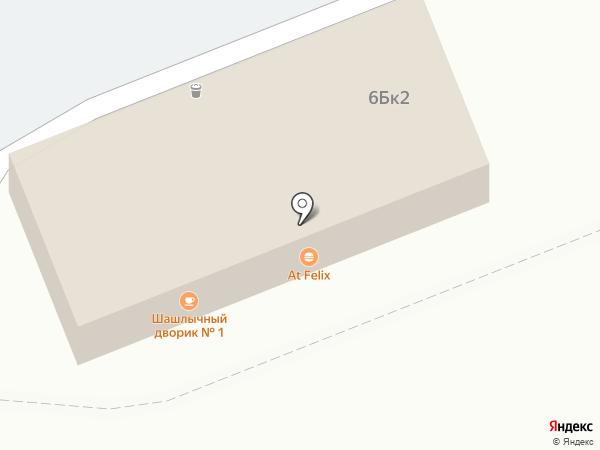 Домовенок на карте Пскова