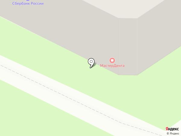МастерДента на карте Пскова