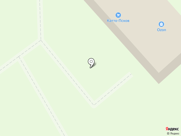 КАТТО-Псков на карте Пскова
