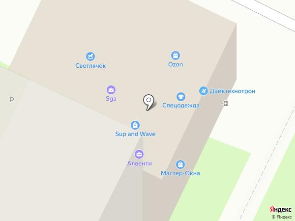 Юрсервис на карте Пскова