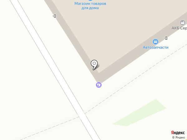 Магазин товаров для дома на карте Пскова