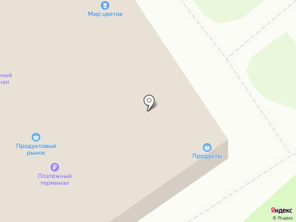 Сабина на карте Пскова