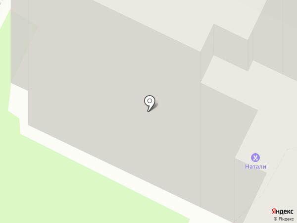 Натали на карте Пскова