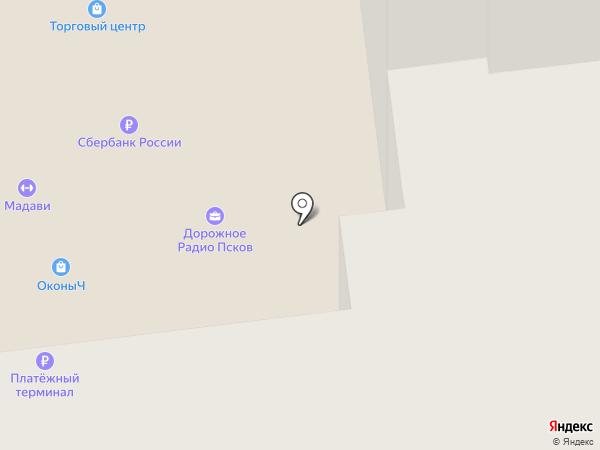 Строящиеся объекты на карте Пскова