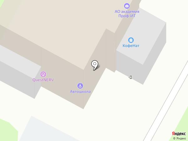 Рона на карте Пскова