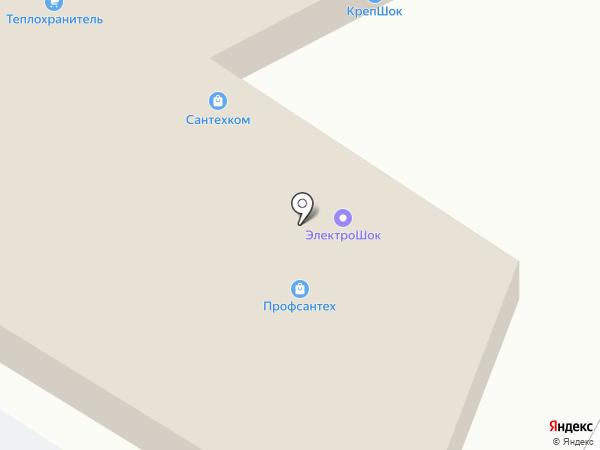 Профсантех на карте Пскова