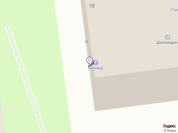 Тензор на карте Пскова