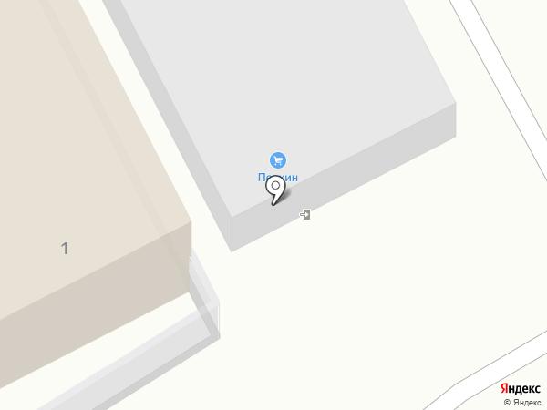 Печкинъ на карте Пскова