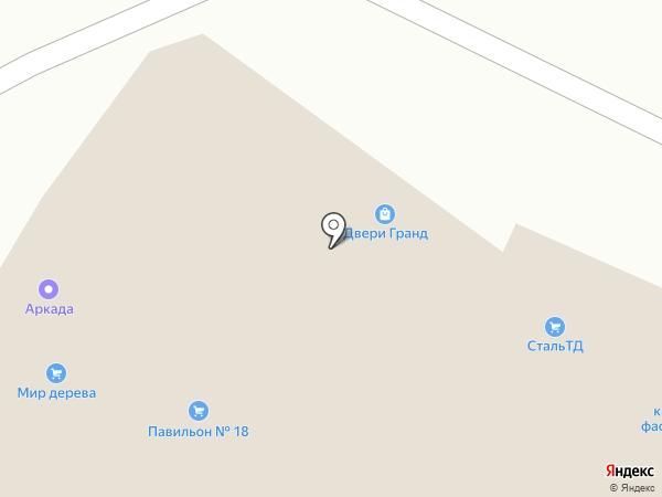 Сталь ТД на карте Пскова