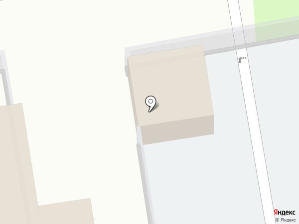Рижская на карте Пскова