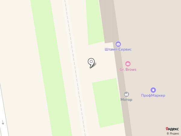 ПрофМаркер на карте Пскова