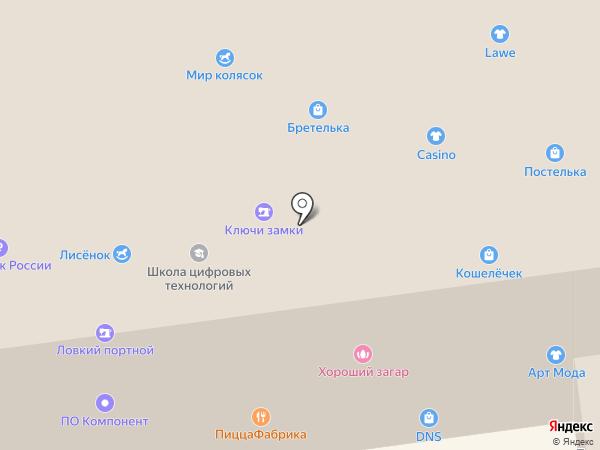 8 на карте Пскова