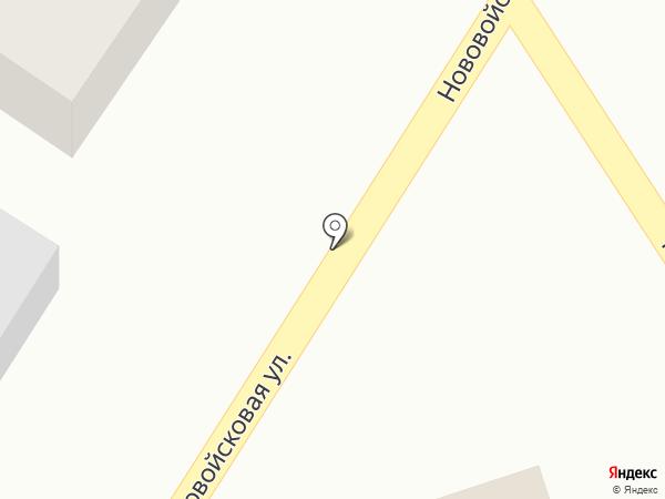 Филин на карте Пскова