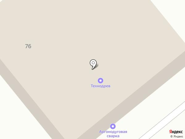 Винтаж-М на карте Пскова