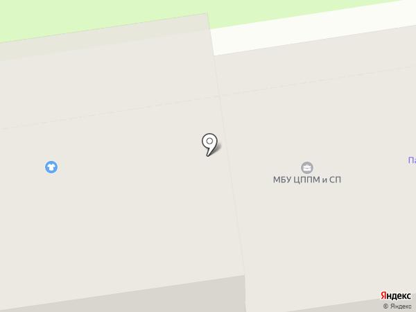 Центр психолого-педагогической медицинской и социальной помощи, МБУ на карте Пскова