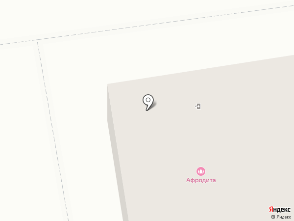 Афродита на карте Пскова