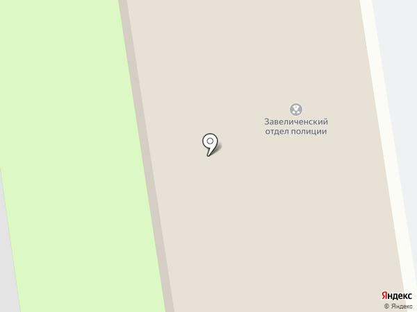 Отделение полиции №1 на карте Пскова