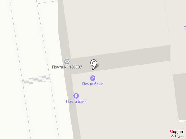 Ампир на карте Пскова