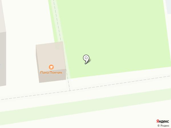 Бриош на карте Пскова