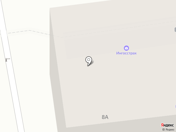 Ингосстрах, СПАО на карте Пскова