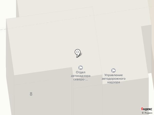 Управление государственного автодорожного надзора по Псковской области на карте Пскова