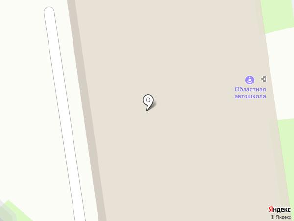 Люко на карте Пскова