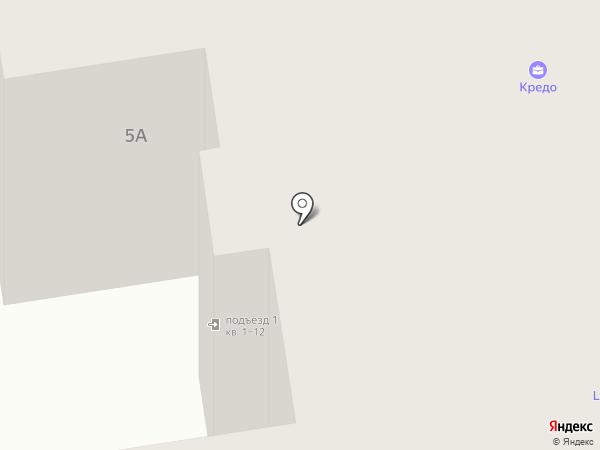 Амосов Ю.И. на карте Пскова