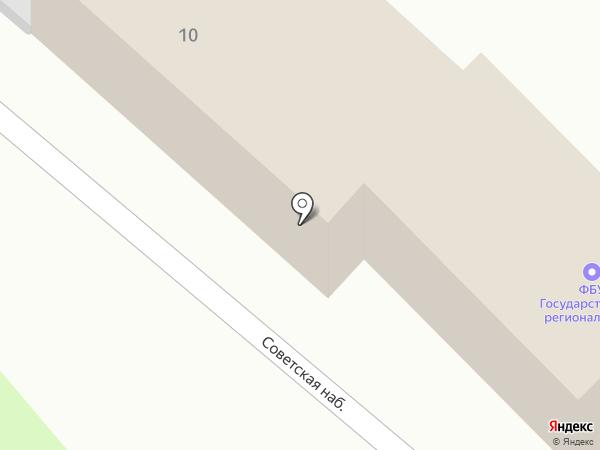 ЦСМ, Центр стандартизации на карте Пскова
