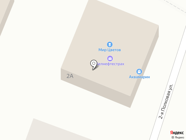 Цветы на Дамбе на карте Пскова