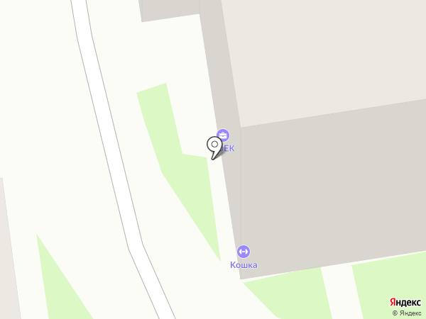Титанит на карте Пскова