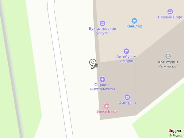 Гулдан на карте Пскова