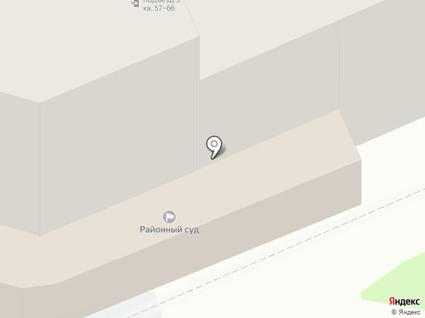 Псковский районный суд на карте Пскова
