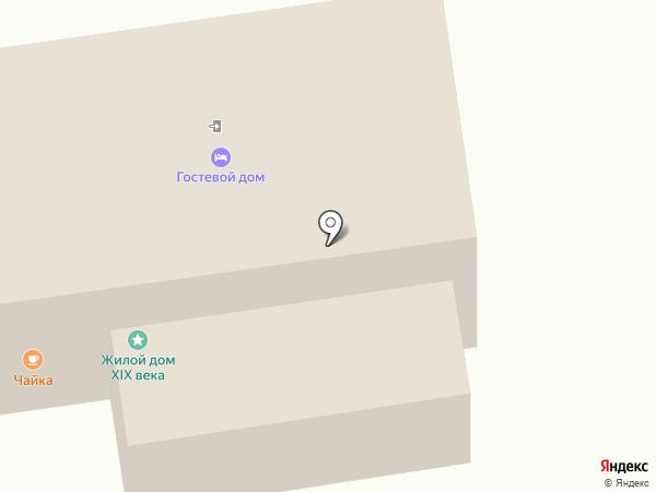 Гостевой Дом на Великой на карте Пскова