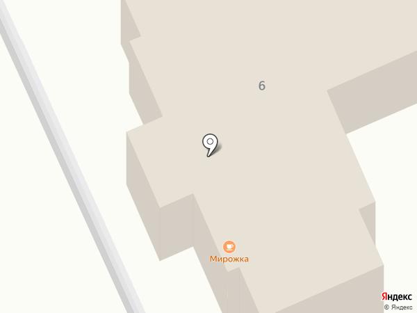 Мирожка на карте Пскова