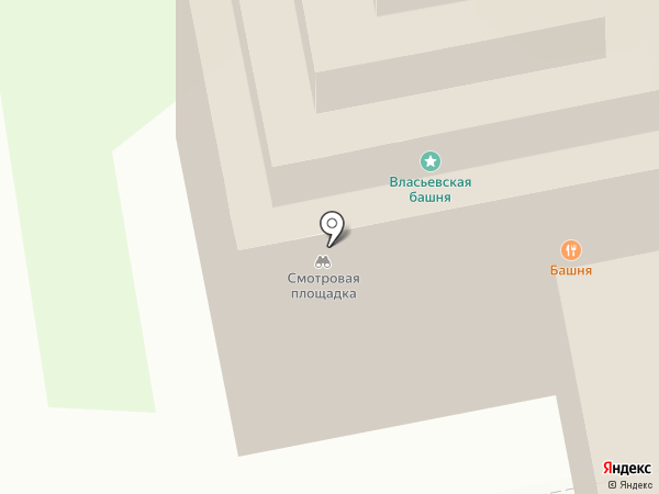 Русь на карте Пскова