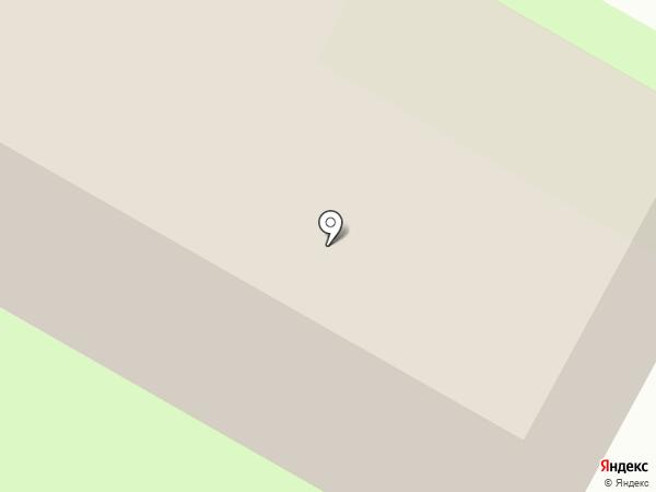 Отдел Военного комиссариата Псковской области по г. Пскову и Псковскому району на карте Пскова