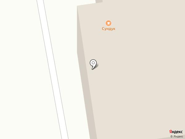 Сундук на карте Пскова