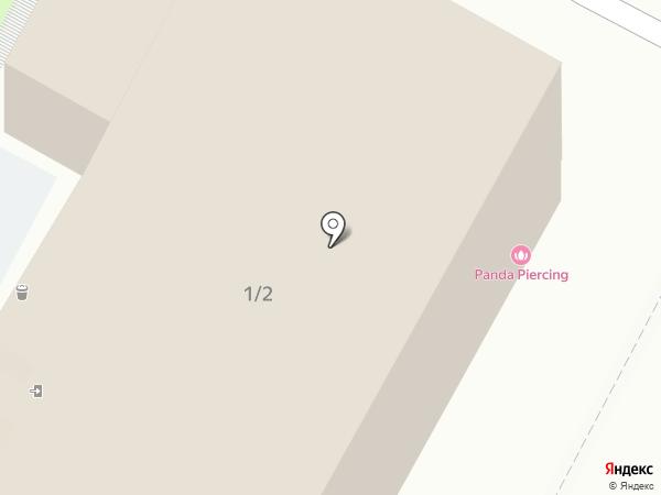 Рождение на карте Пскова