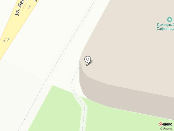 Псковский археологический центр, АНО на карте Пскова