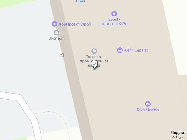 Дива Моделс на карте Пскова