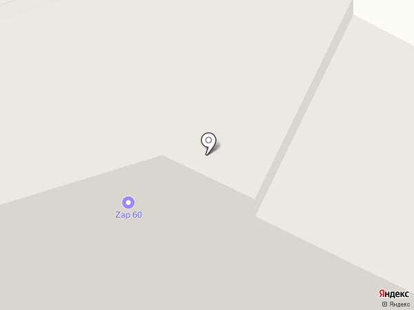 Метелица на карте Пскова
