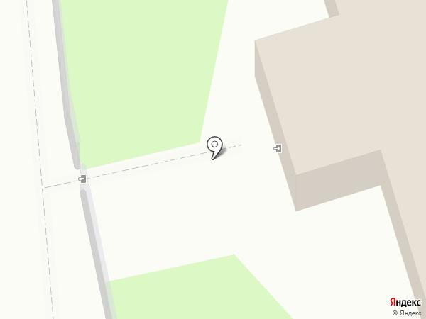 Церковь Козьмы и Дамиана с Примостья на карте Пскова