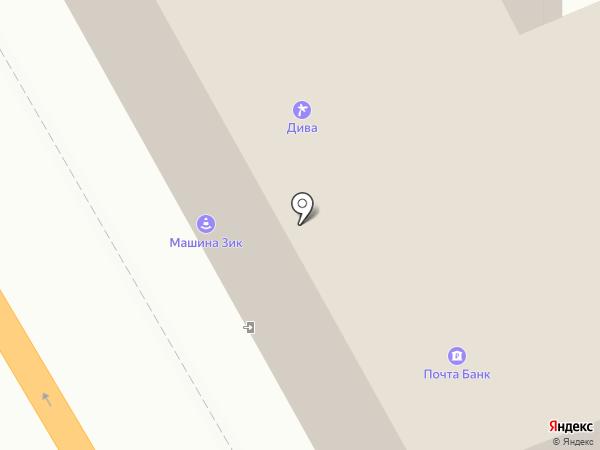 Удачный выбор на карте Пскова