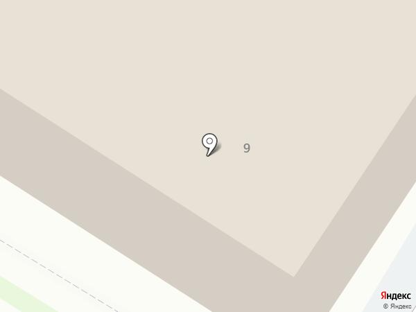 Золотая Скрепка на карте Пскова