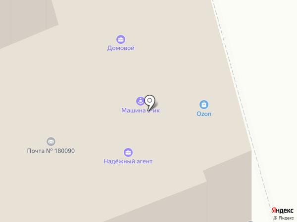 Телеросса на карте Пскова