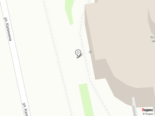 Церковь Успения с Полонища на карте Пскова