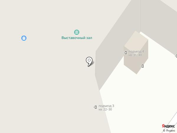 Багетная мастерская на карте Пскова