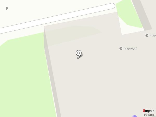 Апартаменты в центре на карте Пскова