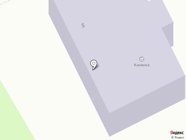 Калинка на карте Пскова